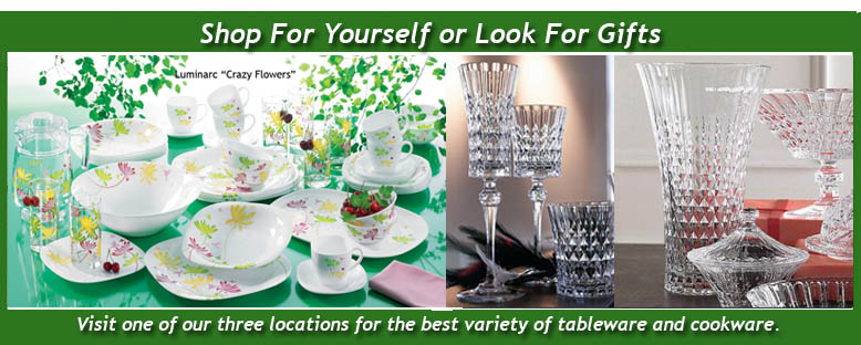 Visions Cookware & Arcopal Dinnerware In Stores Now!
